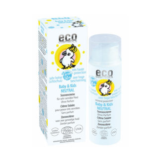 eco cosmetics Solkräm Baby & Kids SPF 50+ Neutral 50 ml