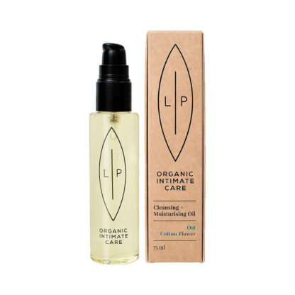 Lip Intimate Care Cleansing Oil Cotton Flower + Oat 75 ml