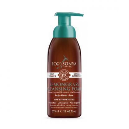 Eco by Sonya Lemongrass Cleansing Foam 375 ml