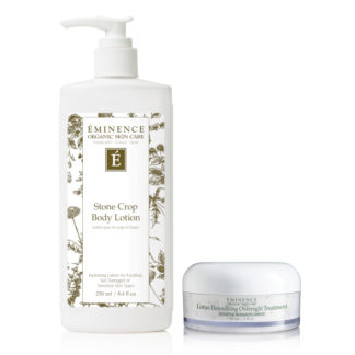 Eminence Lotus Detoxifying Overnight Treatment 60 ml + Eminence Stone Crop Body Lotion 250 ml på köpet