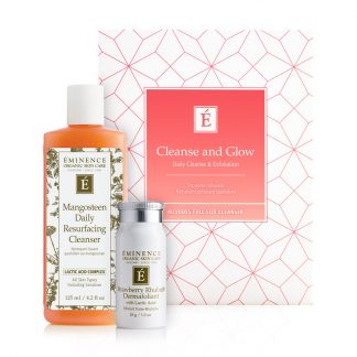 Eminence Cleanse and Glow kit