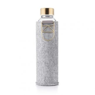 Equa Water Bottle - Mismatch Felt Cover Gold 750 ml