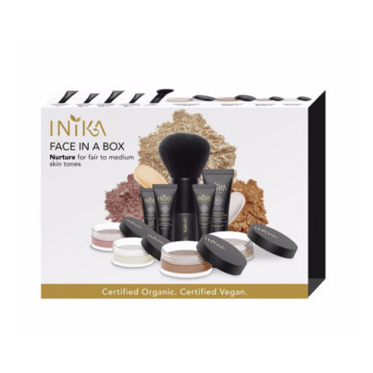 INIKA Organic Face in a Box Starter kit - Nurture